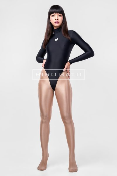 Spandex Leotard Black