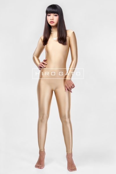 Spandex Catsuit Gold