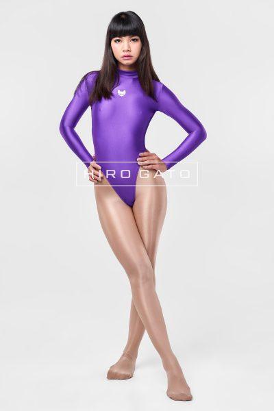 Spandex Leotard Purple