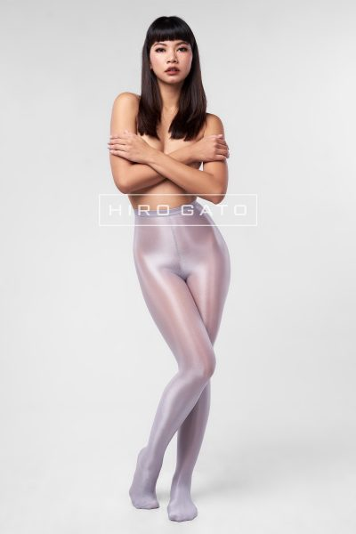Shiny Pantyhose Silver