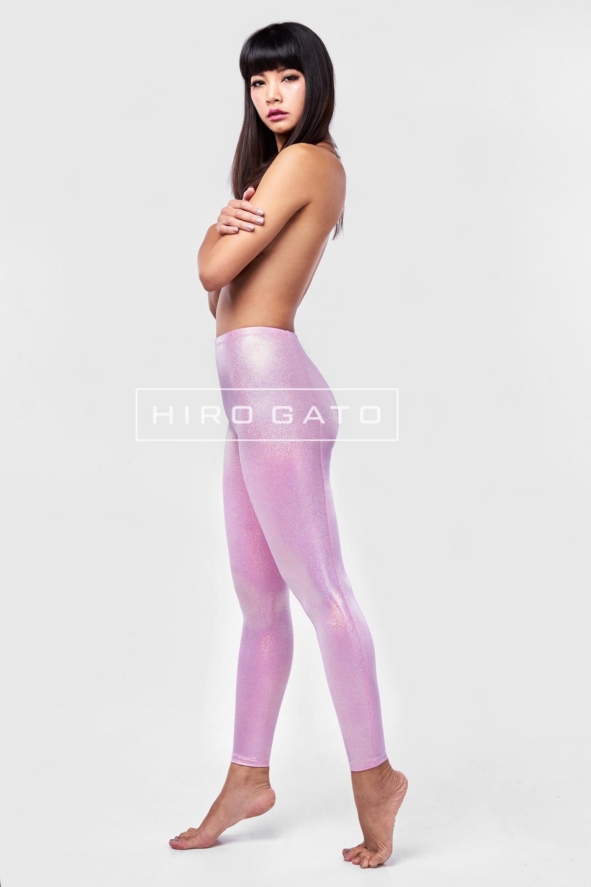 Lycra Leggings Bonbon Pink