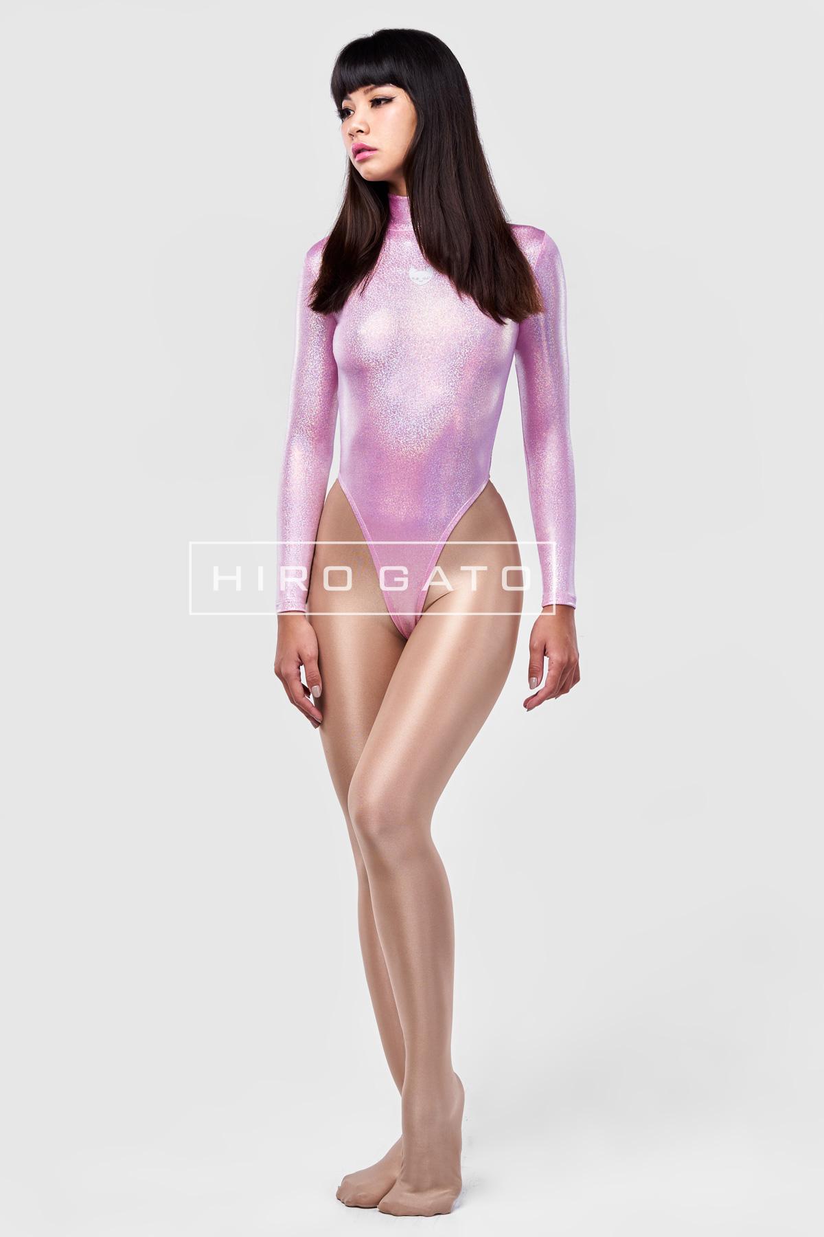 Spandex Leotard Bonbon Pink